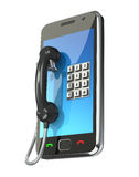 Mobile phone concept Stock Photography