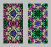 Mobile phone cover back with beautiful Pattern in fractal design Stock Images