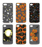 Mobile phone cover  back set .Halloween Stock Images