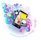 Mobile Phone Entertainment Royalty Free Stock Images