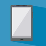 Mobile phone. In a flat design Royalty Free Stock Images
