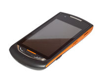 Mobile phone front Stock Photos