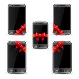 Mobile phone gift Stock Image