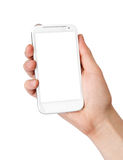 Mobile phone in the hand Royalty Free Stock Photos