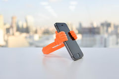 Mobile Phone Holder Stock Image