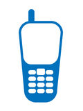 Mobile phone icon Royalty Free Stock Photo