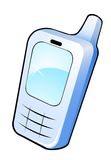 Mobile phone icon Royalty Free Stock Images