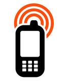 Mobile phone icon Stock Images