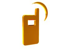 Mobile phone icon Stock Image