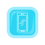 Mobile Phone Icon . Cellphone Communicator Royalty Free Stock Image