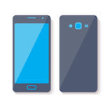 Mobile phone icon. Flat style design. Mobile phone icon. Flat style design with little shadow Stock Images