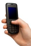 Mobile Phone In A Hand Stock Images