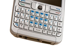 Mobile phone keyboard. Stock Images