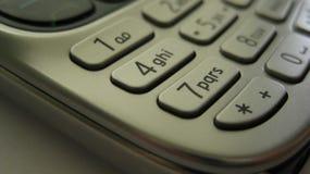 mobile-phone-keyboard Royalty Free Stock Photo