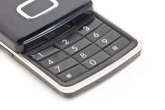 Mobile Phone Keyboard. Stock Photos