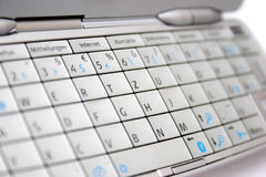 Mobile phone keypad Stock Photos