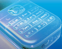 Mobile phone keypad. Digitally manipulated illustration Stock Photo