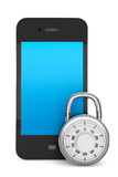Mobile phone with Lock Stock Photos