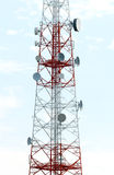 Mobile phone mast antenna Stock Photo
