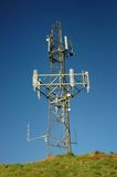 Mobile phone mast. Royalty Free Stock Image