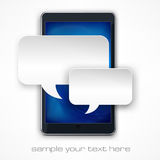 Mobile phone message Royalty Free Stock Photo