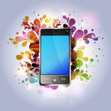 Mobile phone multimedia Royalty Free Stock Images