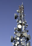 Mobile phone network  antenna Royalty Free Stock Photo