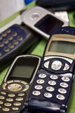 Mobile phone. Old simple GSM mobile phone Royalty Free Stock Image