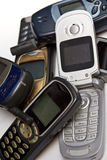 Mobile phone. Old simple GSM mobile phone Stock Images