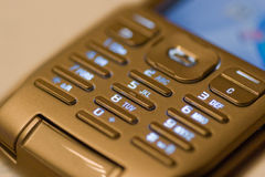 Mobile phone pad Stock Photo
