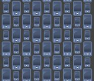 Mobile phone pattern Royalty Free Stock Photography