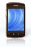 Mobile phone / PDA (on) Stock Photography