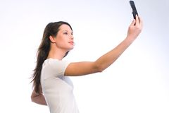 Mobile-phone Photography Royalty Free Stock Image