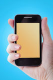 Mobile phone photography Royalty Free Stock Photo