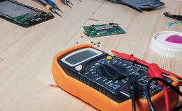 Mobile phone repairing Stock Photography