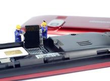 Mobile phone repairs Stock Images