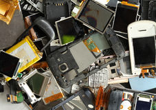 Mobile phone scrap Stock Photography