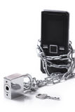 Mobile phone security Royalty Free Stock Images