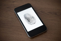 Mobile phone security concept Royalty Free Stock Photography