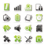 Mobile Phone sign icons Royalty Free Stock Images