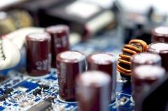 Close up shot of technology parts Royalty Free Stock Image