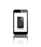 Mobile phone in smart phone Royalty Free Stock Image