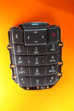 Mobile phone spare part - keypad Stock Image