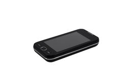 Mobile phone touch screen Stock Photos