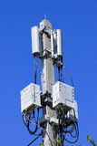 Mobile phone tower Royalty Free Stock Images