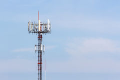 Mobile Phone Tower. Royalty Free Stock Images