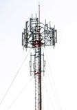 Mobile phone tower in Thailand Stock Photo