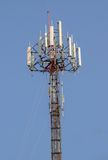 Mobile phone tower in Thailand Stock Image