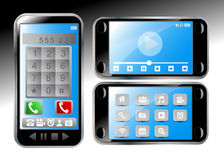 Mobile phone vector Royalty Free Stock Photo