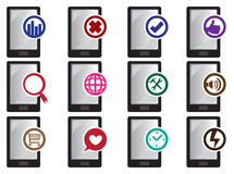 Mobile Phone Vector Icon Royalty Free Stock Photo